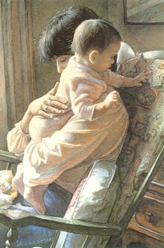Steve Hanks - Mother and Child
