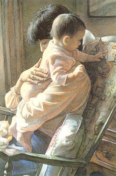 Steve Hanks - Mother and Child