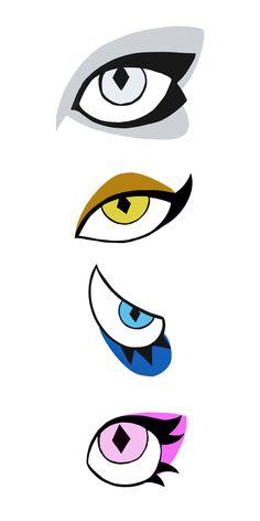 White Diamond and Pink Diamond eye design prediction