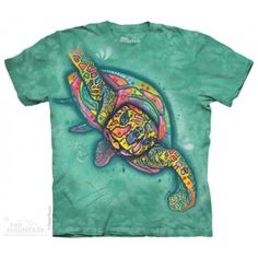 Maieu The Mountain – Maieu Russo Turtle Turtle Shirts, Classic T Shirts, Tee Shirts, T Shirts For Women, Mens Tops, Mountain, Dean Russo, Products, Cotton Tee