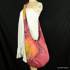 Tie Dye Bag Purse Hobo Hippie Sling Messenger by BenThaiProducts, $15.99