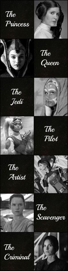 Star Wars - Women Of The Galaxy by Lovegidget