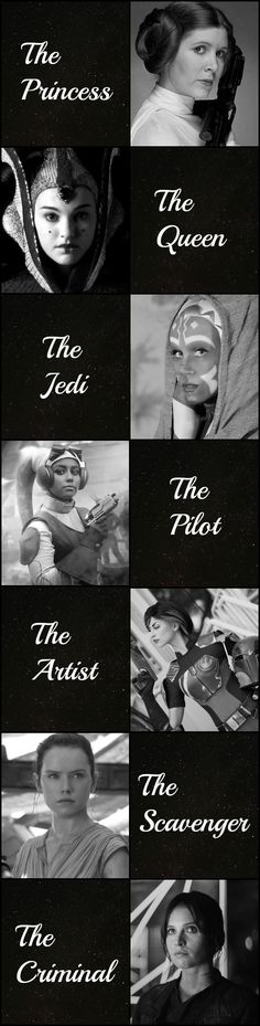 Star Wars - Women Of The Galaxy by Lovegidget