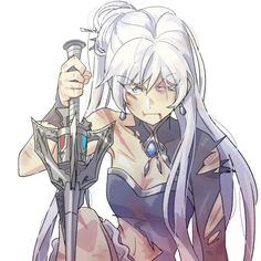 Weiss, you're beautiful in the finest gowns to the most tattered rags! Rwby Anime, Rwby Fanart, Tsundere, Rwby White Rose, Rwby Weiss, Character Art, Character Design, Rwby Bumblebee, Rwby Red