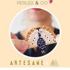 Qu'est qu'il est joli, je joue pour gagner de quoi réaliser ce joli paon 😍 #artesanexperlesandco #artesanexmonpetitbazar
