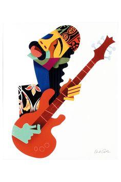 David Cowles Santana, Limited Edition, Giclee