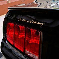 #Detailkorea #Griben #Car Lettering Slogans #Emblem 30036 Gold for #Ford #Mustang #badge   eBay