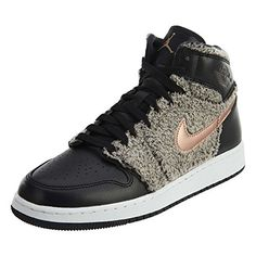 14ebc380a6d617 Nike Jordan AJ 1 Kids Nubuck Imported Combination leather and synthetic  leather upper for durability and comfort Solid rub.
