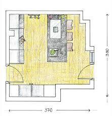 Resultado de imagen para plano cocina isla central cuina for Planos de cocina isla