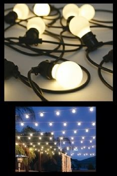 Bella Vista Festoon Lighting - LOVE!!!