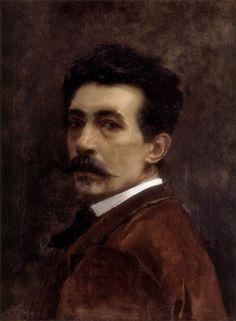 Joaquín Agrasot · Autoritratto · 1867 · Museo de Bellas Artes · València