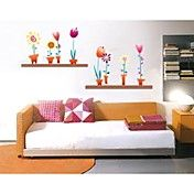 Flower+Wall+Sticker+(0752+-P2-16(B))+–+AUD+$+23.37