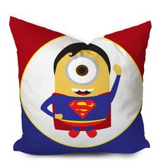 Minion Avengers Superman Pillowcase  https://www.artbetinas.com/collections/square-pillow-case/products/minions-avengers-superman-pillow-case-square-pillow-cover-pillow-case-cushions-pillow-cover-home-decor-pillow-bed-pillow-bedding-housewares