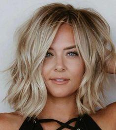 Medium Hair Styles, Short Hair Styles, Blonde Hair Looks, Mid Length Hair, Hair Color And Cut, Hair Affair, Great Hair, Gorgeous Hair, Hair Hacks