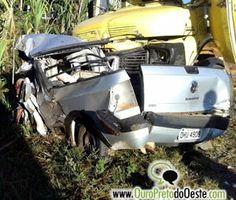R12Noticias.com: Pai e filha morrem em grave acidente na BR-364