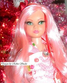 I'm Dreaming of a Pink Christmas ~Ooak  Vintage 1963 Skipper~Re-Root, Repaint #DollswithClothingAccessories