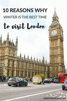 Planning a trip to London? Check out these 10 great reasons why winter is the best time to visit London. See the city decorated for Christmas and save money by visiting during the off season. #londontrip #londononabudget