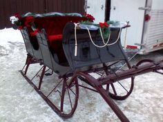 Come on along with me, we're going for a sleigh ride...