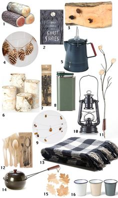 Indoor Camping Party: Decor, Menu, + Music — Apartment Therapy Perfect Party Ideas Guide