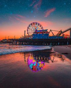 Santa Monica California by Ryan Thomas