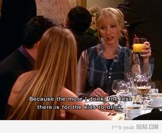 Friends TV Show I will now use this as an excuse to over drink