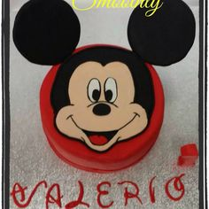 In dolce topolino per il primo compleanno di Valerio by smoothly