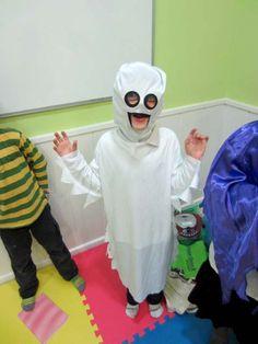 Halloween 2013: este es uno de nuestros fantasmas. Tan dulces todos que sólo asustaban a los dentistas.