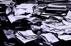 October project: paper & digital clutter