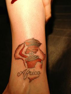 18 Best African Tattoo Designs Images Map Tattoos Africa Tattoos