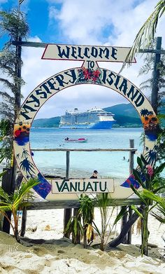 """Mystery Island, Vanuatu 