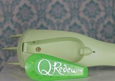 Give your hair a mini-vacation to the tropics! The mist from the Q-Redew handheld hair steamer warms and softens the hair allowing you to rejuvenate, hydrate, reshape, and boost volume without rewetting.