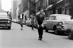 SKATEBOARDING, NEW YORK, 1960S
