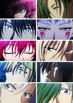 Akatsuki no Yona  happy hungry bunch eyes anime