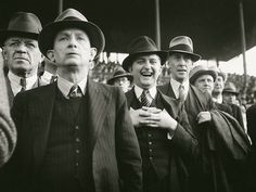 footbal supporters - Max Dupain (this is what we wore to go to the footy!!!)
