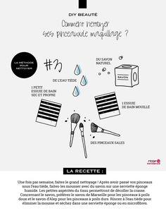 Laver ses pinceaux de maquillage est aussi important que de se laver le visage. Afin d'éviter les nids à microbes, pensez à les nettoyer correctement ; votre peau vous remerciera ! Il existe des produits conçus à cet effet, mais vous pouvez très bien opter pour une solution plus économique et plus douce.