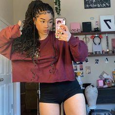 Box Braids Hairstyles For Black Women, Black Girl Braids, Braids For Black Hair, Girls Braids, Braided Hairstyles For Wedding, Braided Hairstyles Tutorials, Baddie Hairstyles, Girl Hairstyles, Braid Hairstyles