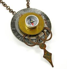 Pendant Assemblage - Vintage Remains Mary Welch