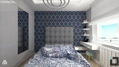 Sypialnia z toaletką i szafą. - zdjęcie od iStudioo - homebook