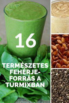 Egészséges reggeli - 16 természetes fehérjeforrás a turmixban – így dobd fel a turmixodat fehérjével Smoothie Bowl, Smoothies, Serving Table, Quick Meals, Healthy Life, Detox, Juice, Vitamins, Recipies
