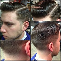 Everyone's goin short. No weight line just the product. I promise #barber…