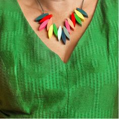 Shop Women's Necklaces and Pendants of all varieties at Ruby Olive. We bring you the best of statement jewellery sure to get a conversation started. Fringe Necklace, Resin Necklace, Collar Necklace, Washer Necklace, Beaded Necklace, Bold Jewelry, Statement Jewelry, Selling Jewelry, Candy Colors