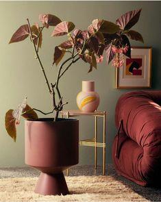 Stine Goya Designs Series of Ceramic Vases and Pots for Kähler - ✰ Design I like. ✾ - Home Home Interior Design, Interior Styling, Interior And Exterior, Interior Decorating, Decorating Games, Autumn Interior, Decoration Inspiration, Color Inspiration, Interior Inspiration