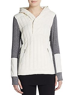 Sunburst Quilted Performance Hoodie