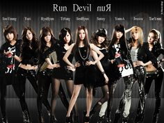 Girls Generation Run Devil Run - girls-generation-snsd wallpaper