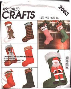 Amazon Art, Sewing Stores, Christmas Stockings, Sewing Crafts, Sewing Patterns, Christmas Patterns, Packaging, Gd, Holiday Decor