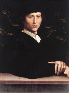 Portrait of Derich Born, 1533  Hans Holbein the Younger