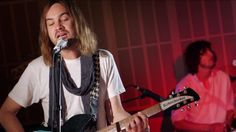 Tame Impala have stopped by the triple j studios to soak Kylie Minogue's 'Confide In Me' in their brand of super-smooth psych-rock for 'Like A Version'.