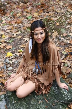 Pocahontas Native American Princess Costume Tutorial