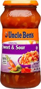 Uncle Bens Sweet Sour 450g (15.9oz) Asian Recipes, Gourmet Recipes, Asian Foods, Salsa, Spices, Cooking, Sweet, Ireland, Oriental