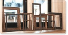 Tapestry inspired frames